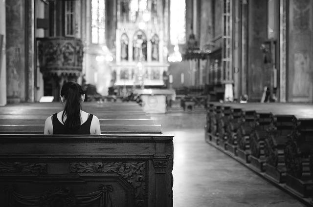 Beterin vor Gott