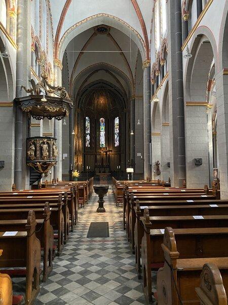 St. Margareta Mittelschiff